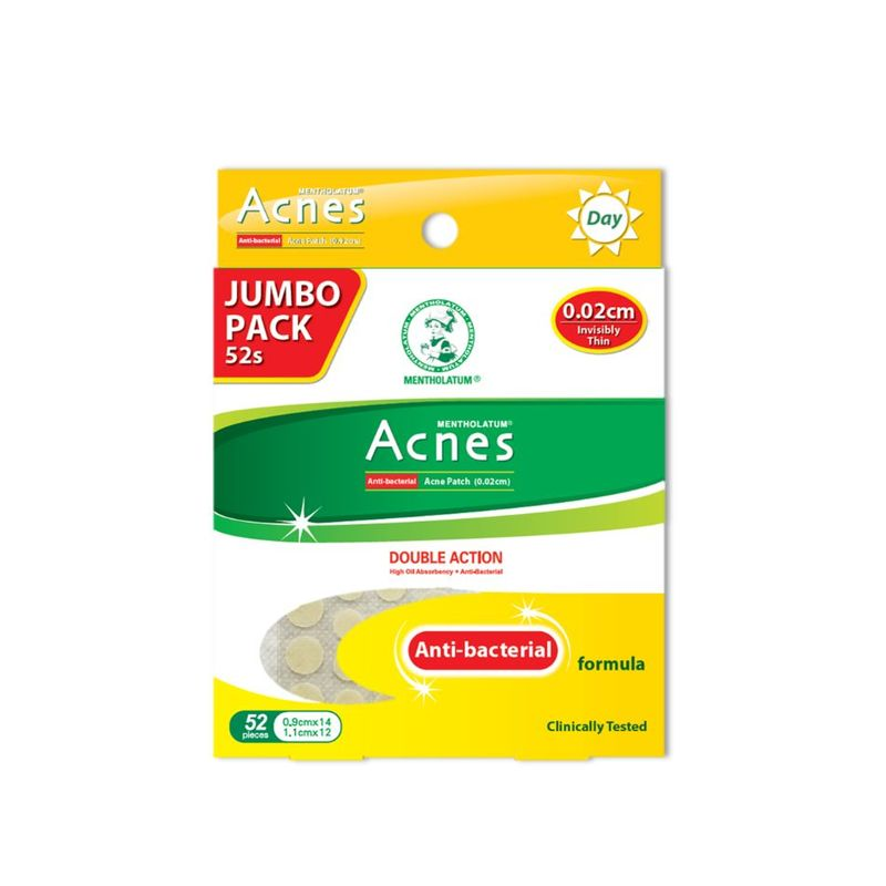 Acnes Anti-bacteria Patch 0.02cm (Jumbo), 52pcs