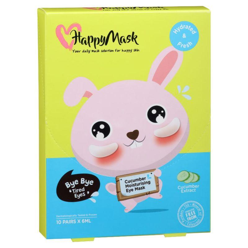 HappyMask Moist Rabbit Cucumber Eye Mask