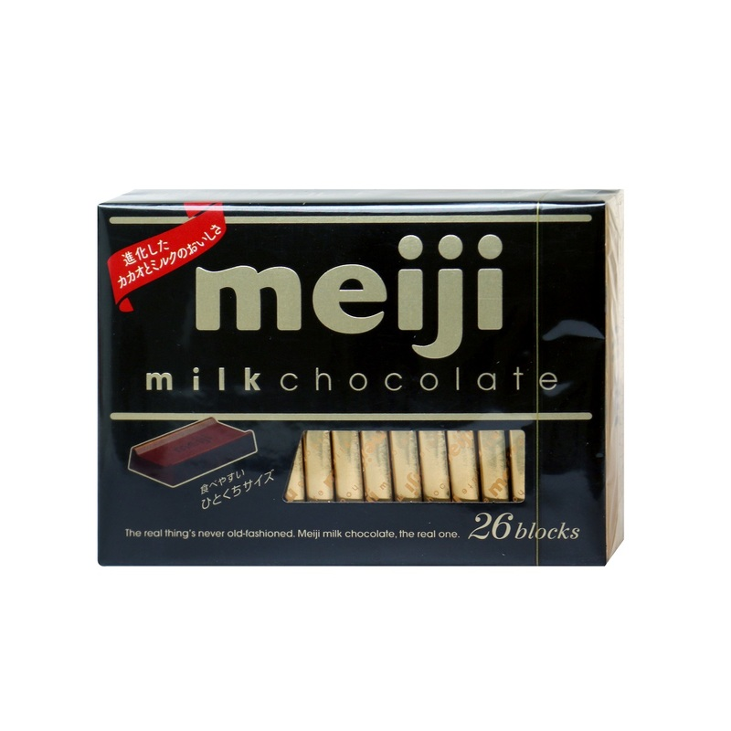 Meiji Milk Chocolate Box 120 g