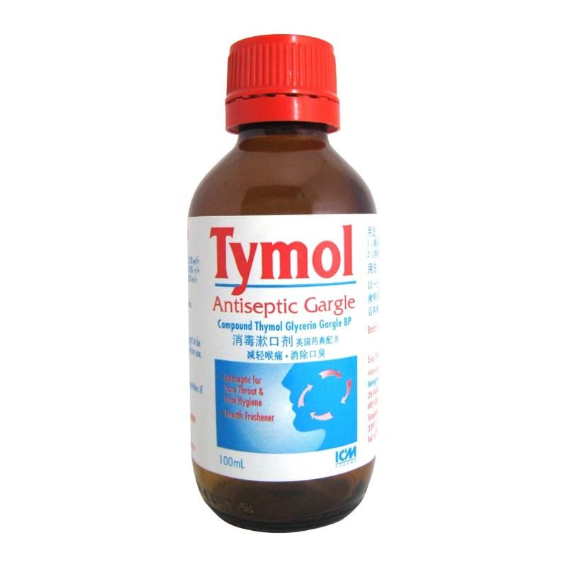 ICM Pharma Tymol Antiseptic Gargle, 100ml