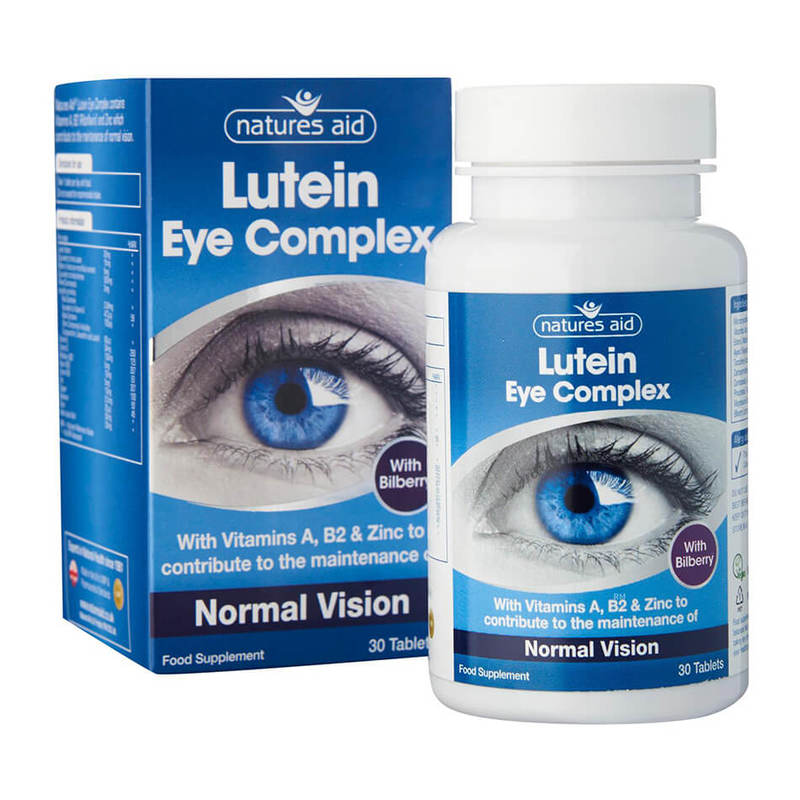 Natures Aid Lutein Eye Complex 30 tablets