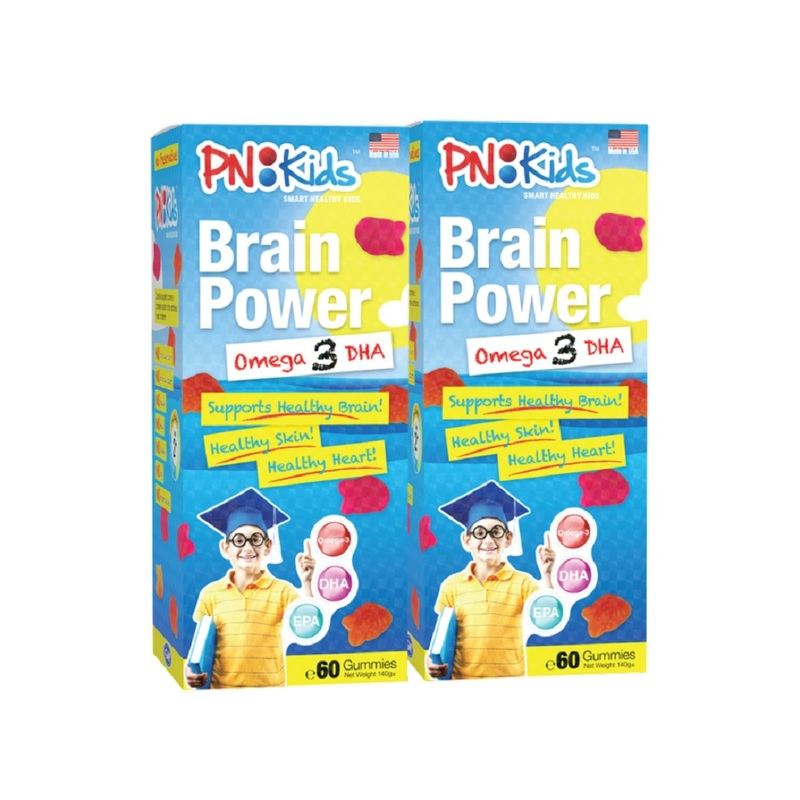 PN Kids Brain Power Twin Pack (120s)