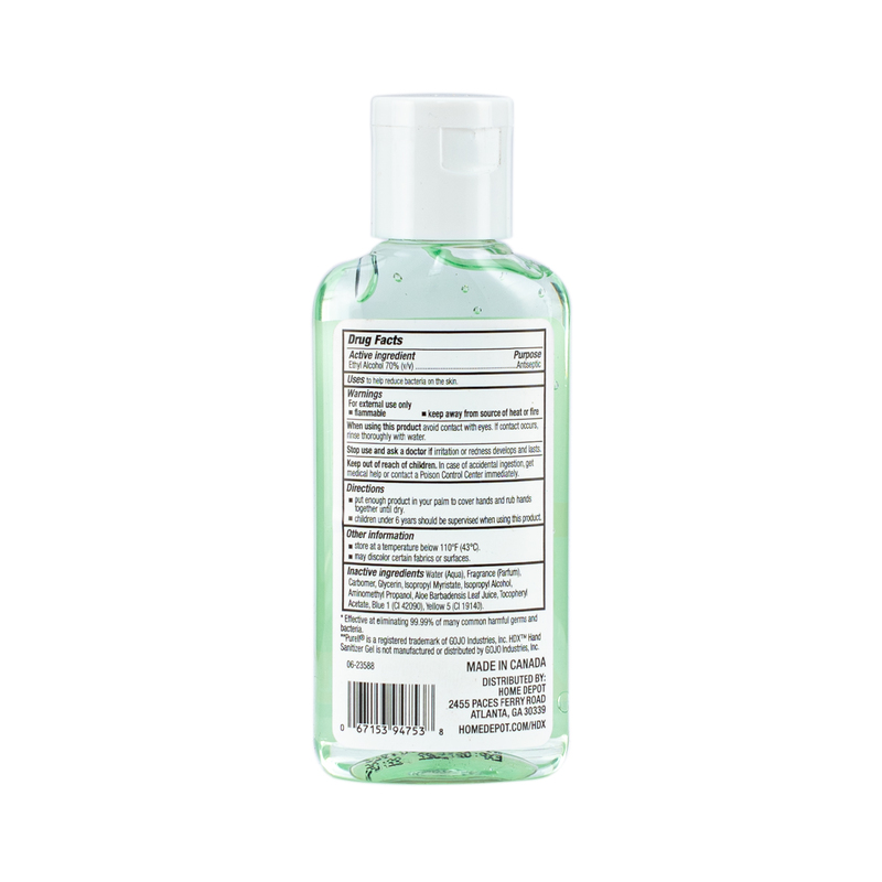Hdx Aloe Hand Sanitizer Gel 59mL