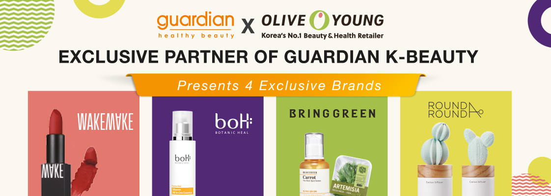 Olive Young x Guardian