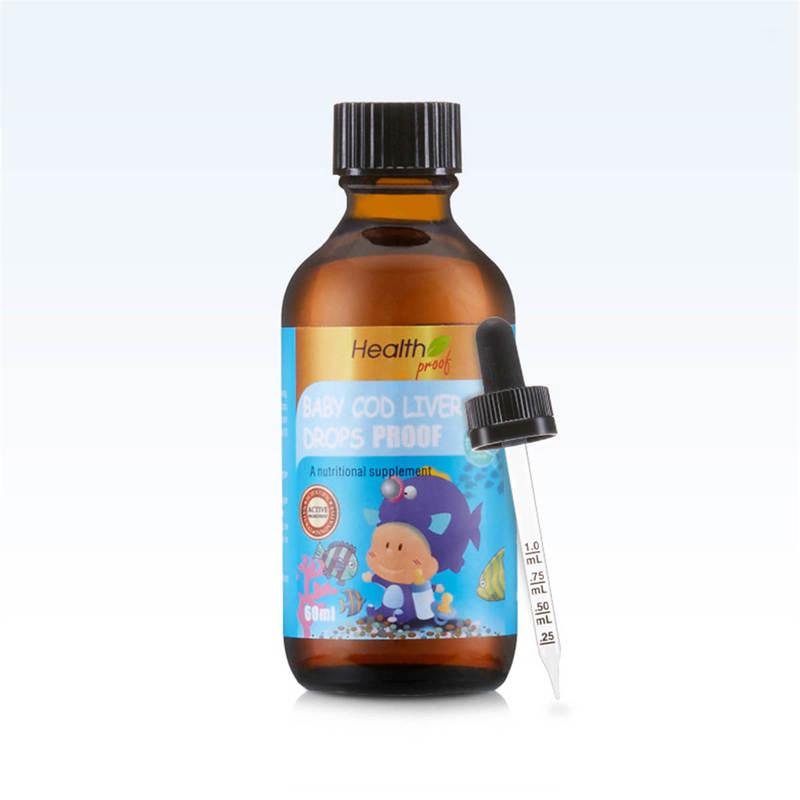 Health Proof Baby Cod Liver Oil Drops Pf 60mL