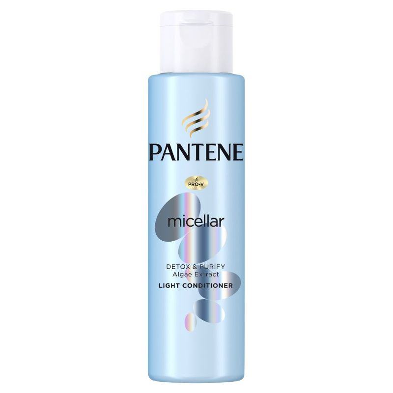 Pantene Micellar Water Pure & Cleanse Conditioner, 100ml