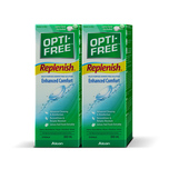 Alcon Opti-Free® RepleniSH® Multi-Purpose Disinfecting Solution 300mL X2 bottles + Tester 60mL