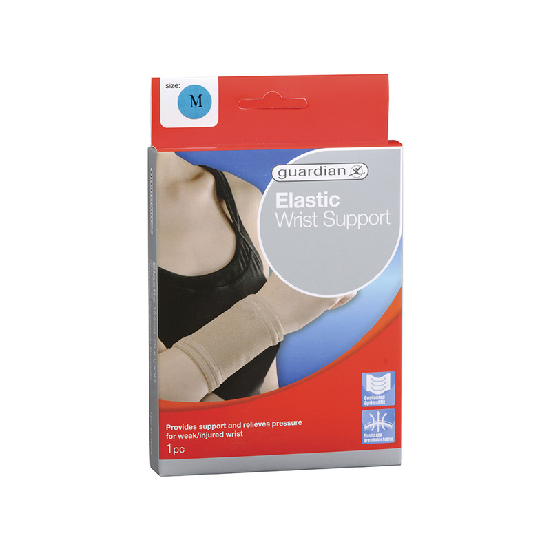 Guardian Elastic Wrist Support M 1pc