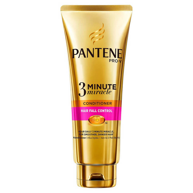 Pantene Hair Fall Control 3 Minute Miracle Conditioner, 340ml