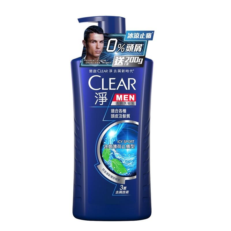 Clear Men Icy+Cf 750mL+200mL