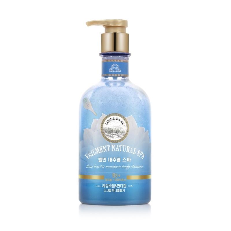 ON: THE BODY SPA Lime Basil & Mandarin Scrub Body Wash 600g