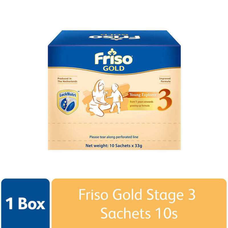 Friso Gold Stage 3, 10 sachets