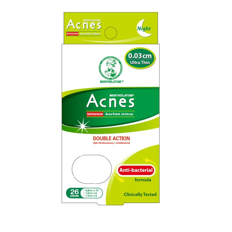 Acnes Anti-Bacteria Patch, 26pcs