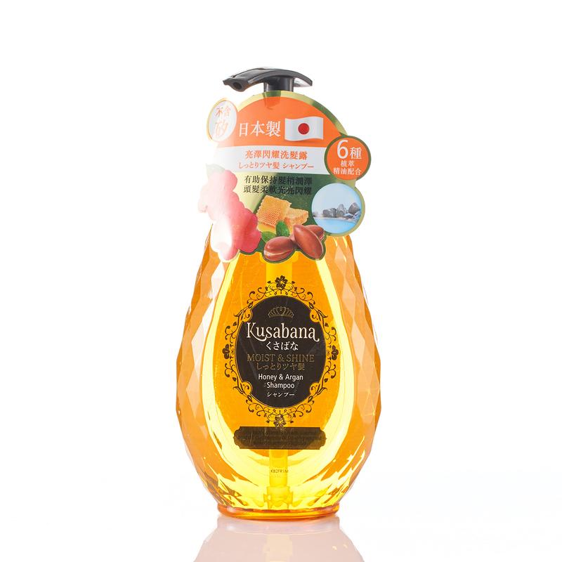 Kusabana Moist And Shine Shampoo 490mL