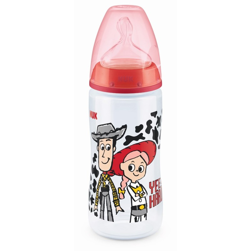 Nuk Toy Story Pch PP Bottle with Silicon Teat(0-6M) 300mL