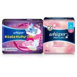 Whisper Skin Love 28cm, 16pcs + Koala Huhu 36cm, 5pcs