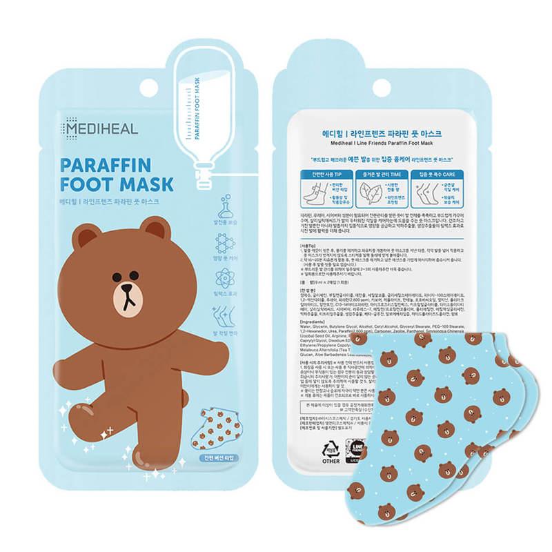 Mediheal LINE Paraffin Foot Mask 1s