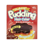 Ezn Shaking Pudding Hair Color Dark Red Brown 3.6 (70ml+70ml)