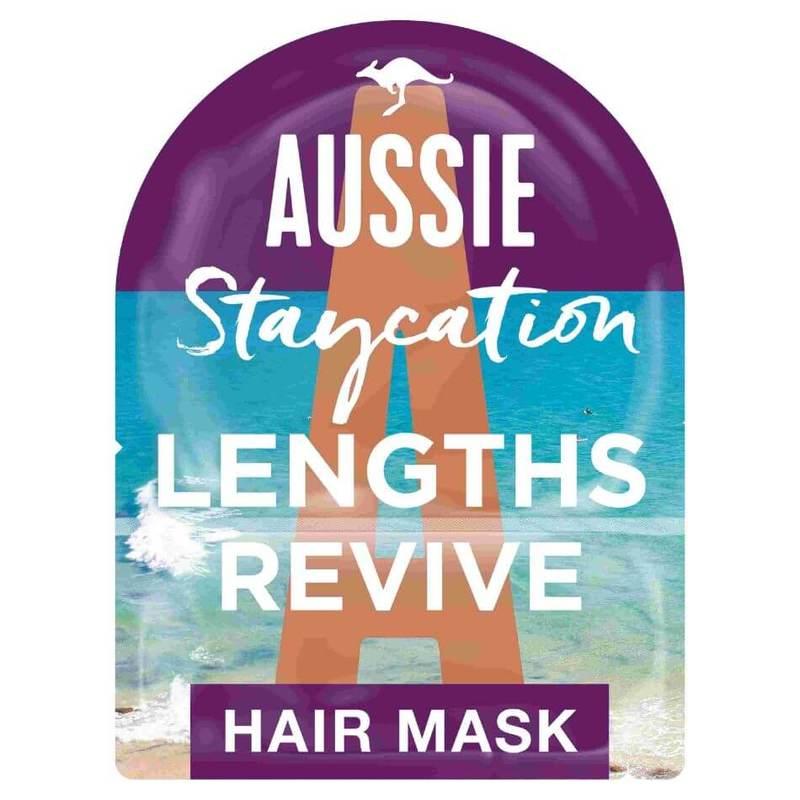 Aussie Staycation Australian Beach Strawberry Lengths Revive Hair Mask & Cap 20ml