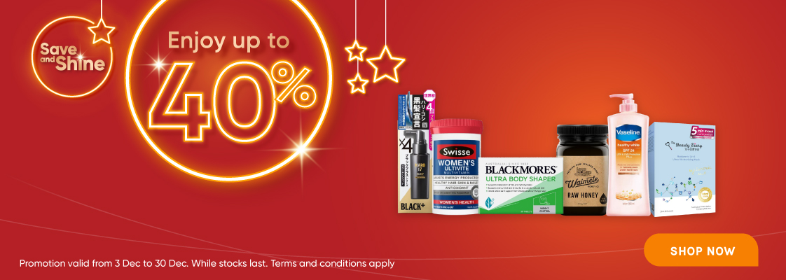 Save & Shine - 3 to 30 Dec