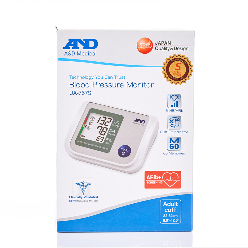 And UA-767S Upper Arm Blood Pressure Monitor 1pc