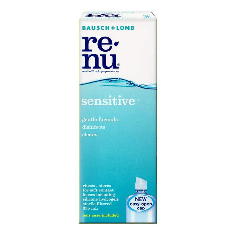 Bausch & Lomb Renu Sensitive Multi-Purpose Solution, 355ml
