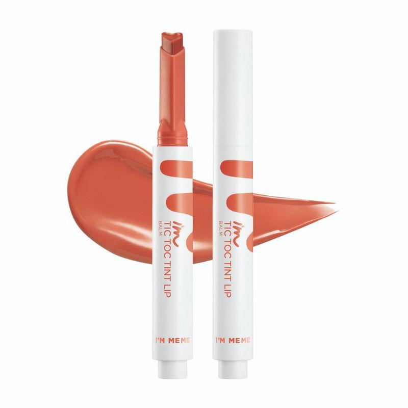I'm Meme Tic Toc Tint Lip Balm 02 Mellow Coral, 1.4g