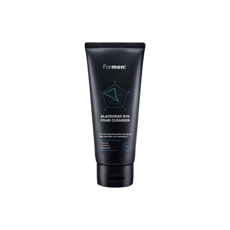 Forment Blackhead Bye Foam Cleanser, 120 ml