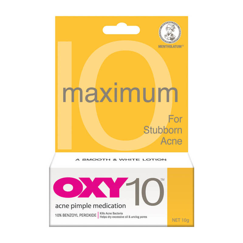 Oxy 10 - For Stubborn Acne