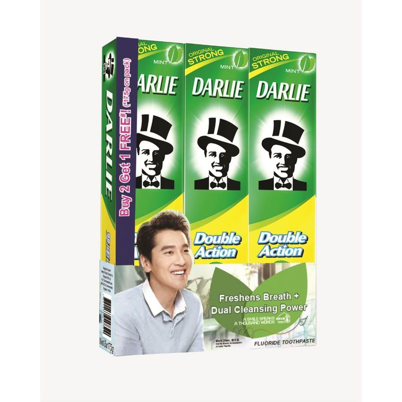 Darlie Double Action Buy 2 Get 1 Free Toothpaste Value Pack