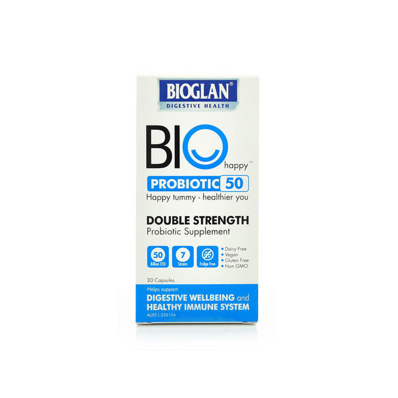 Bioglan Happy Probiotic 50B, 30 capsules