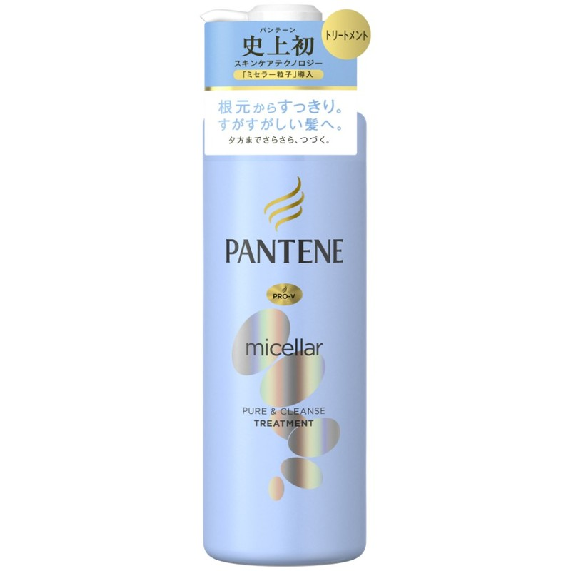 Pantene Micellar Water Pure & Cleanse Conditioner, 500ml