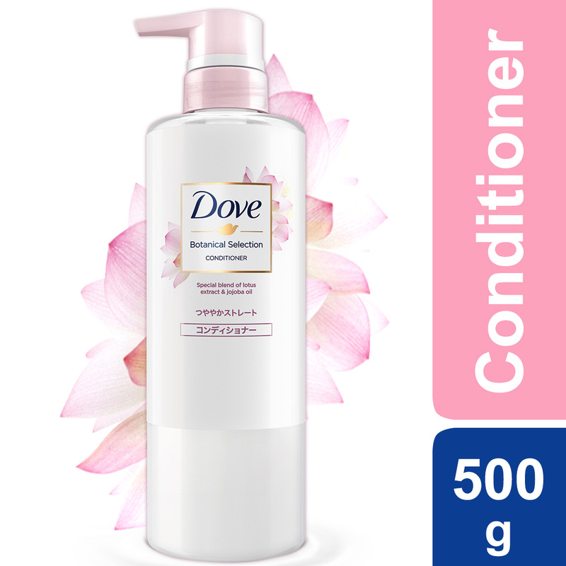 Dove Botanical Selection Straight and Split Ends Protection Conditioner 500g