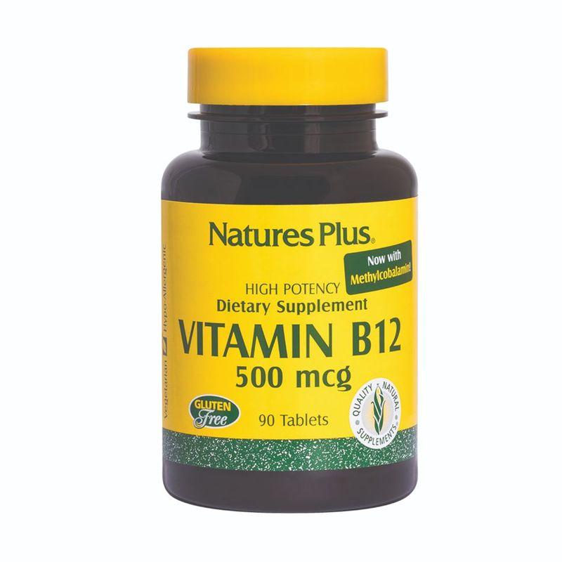 Nature's Plus Vitamin B12 500Mcg 90s