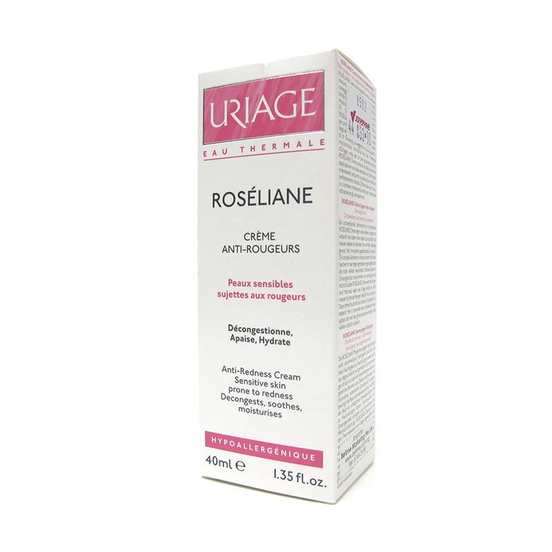 Uriage Roseliane Creme Anti-Rougeurs (Anti-Redness Cream), 40ml
