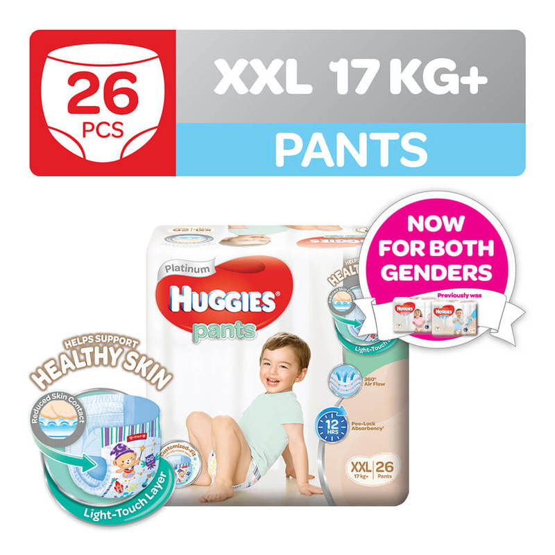 Huggies Platinum Pants (XXL) 26pcs
