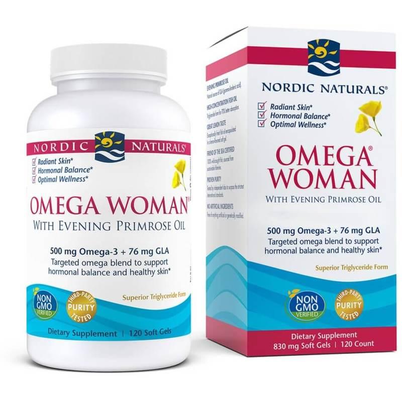 Nordic Naturals Omega Women 120 Soft Gels