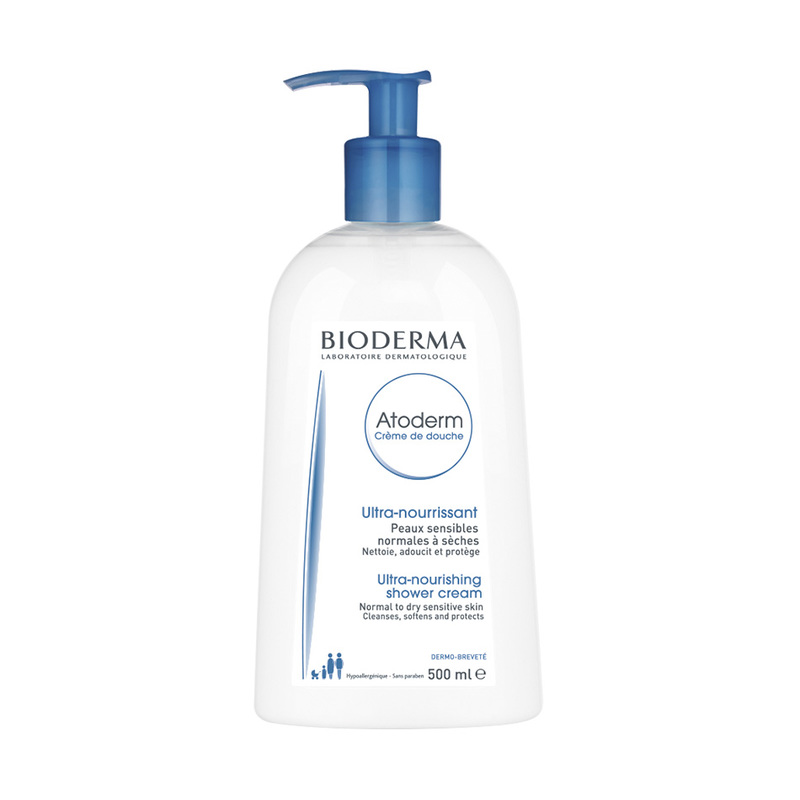 Bioderma Atoderm Creme De Douche Shower Cream, 500ml