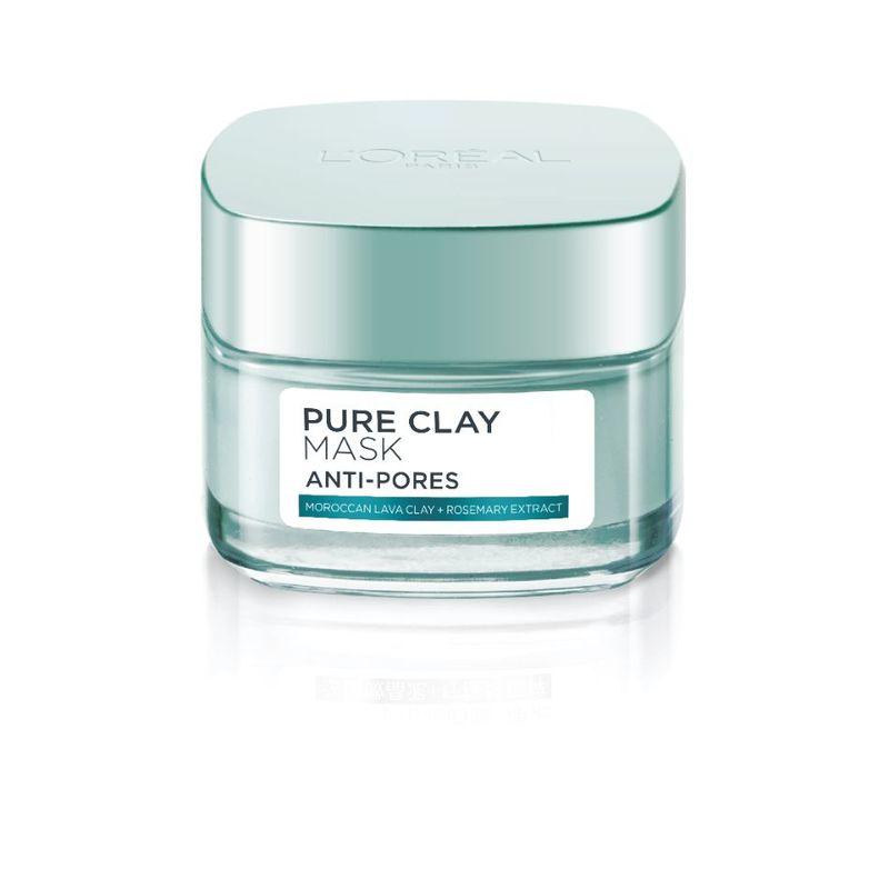L'Oreal Paris Anti-Pores Perfecting Pure Clay Mask 50g