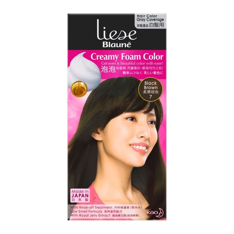 Liese Blaune Foam Color Black Brown