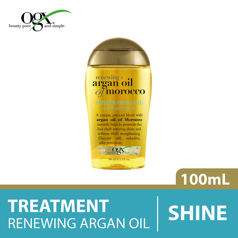 Ogx Renewing Moroccan Argan Penetrating Oil, 100ml