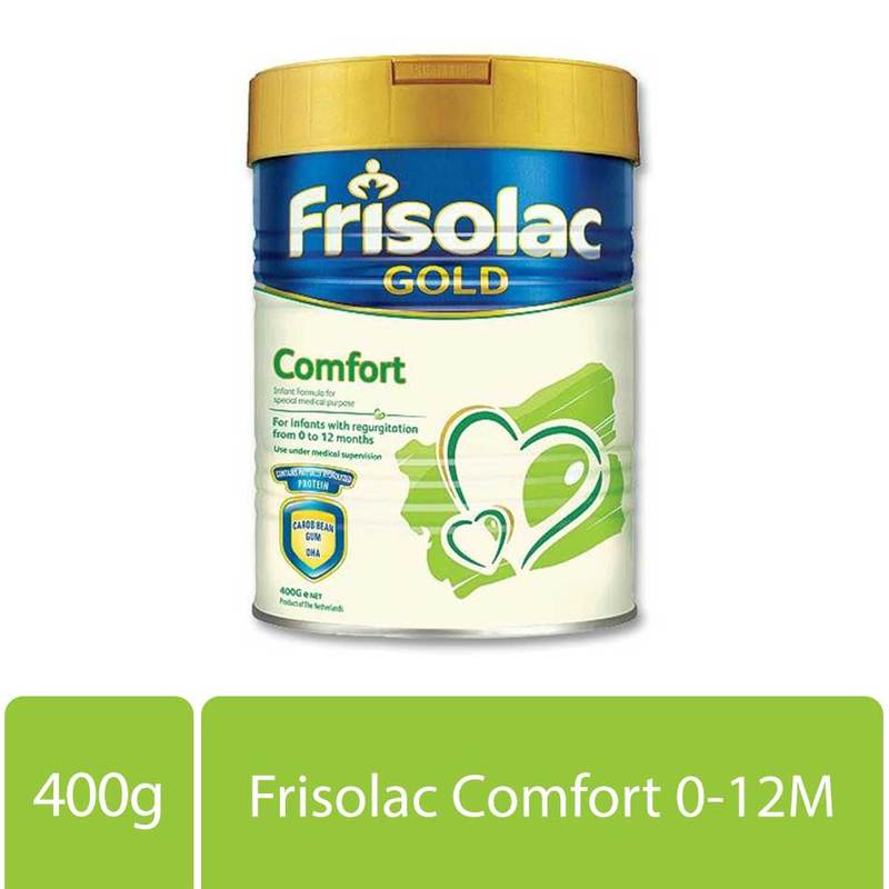 Friso Frisolac Gold Comfort Infant Formula Stage 1 (0-12M), 400g