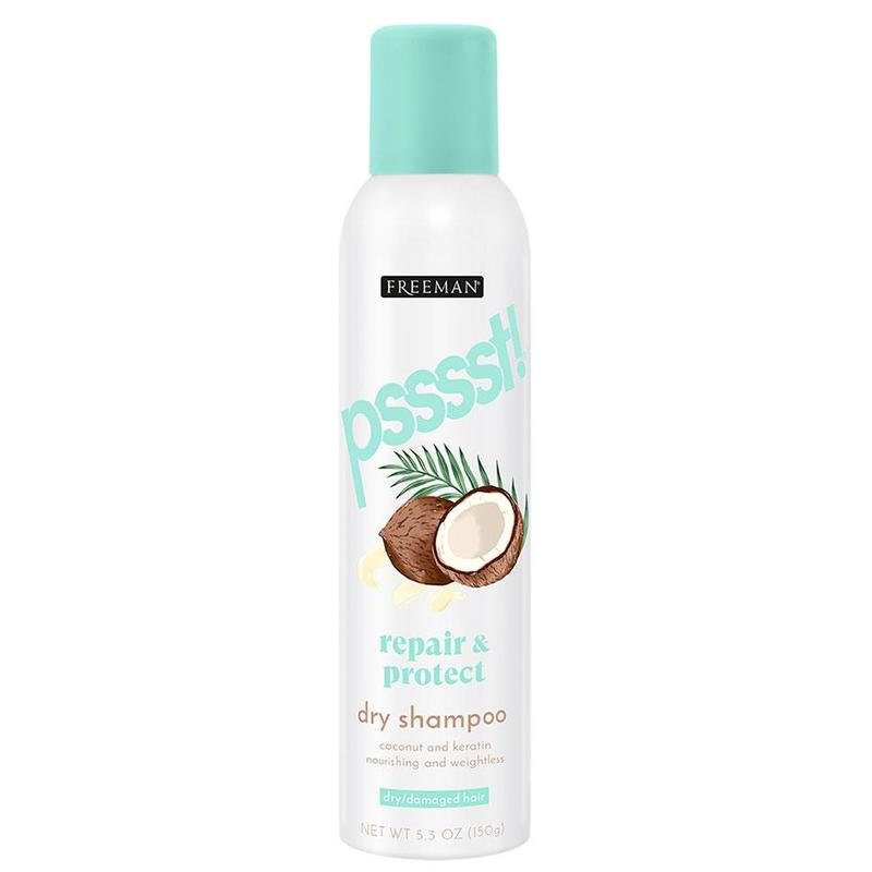 Freeman Psssst Repair and Protect Dry Shampoo Coconut and Keratin, 150g