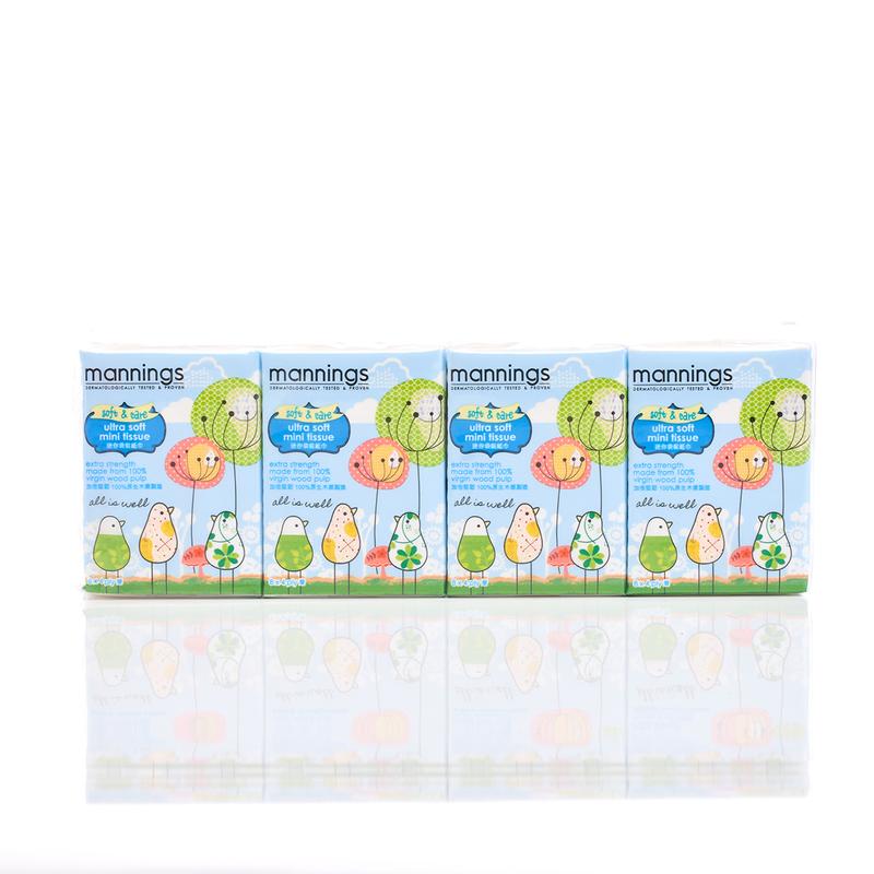 Mannings Neutral Ultra Soft Mini Tissue 12pcs