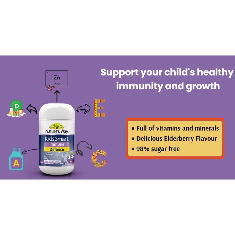 Nature's Way Kids Smart Immune Defence 50S