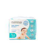Mannings Baby Diapers L 32pcs