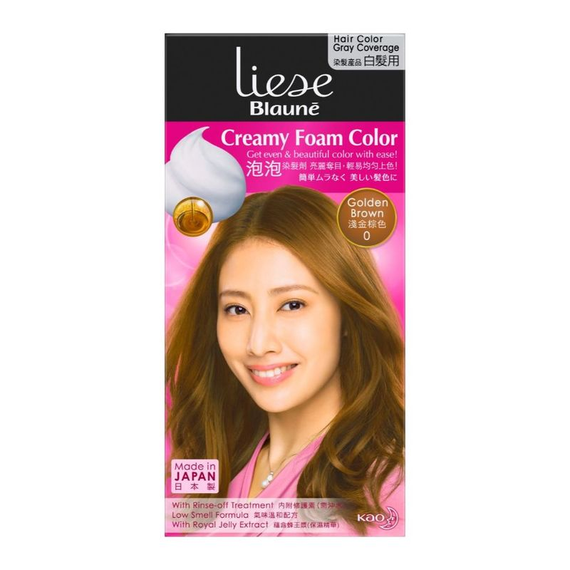 Liese Blaune Foam Color Golden Brown