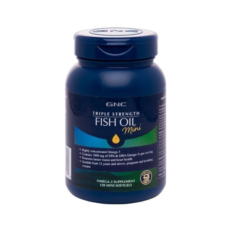 GNC Triple Strength Fish Oil (Mini) 120s