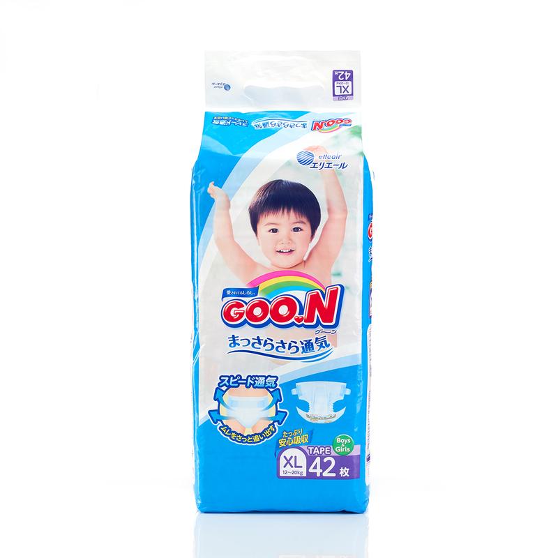 Goo.N Diaper XL 42pcs