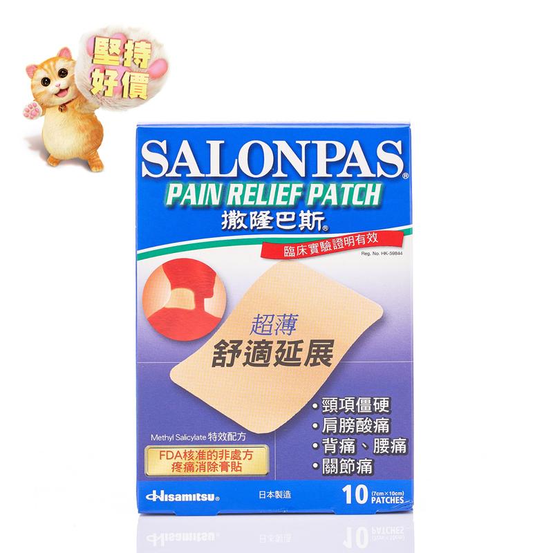 Salonpas Pain Relief Patch 10pc